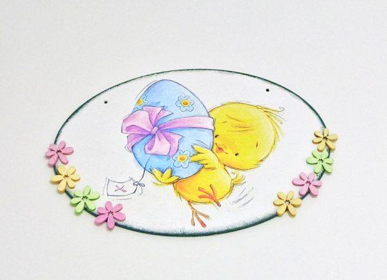 deska s kytičkami