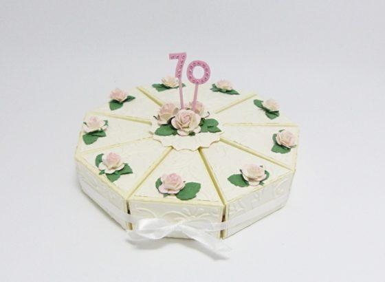 papírový dort