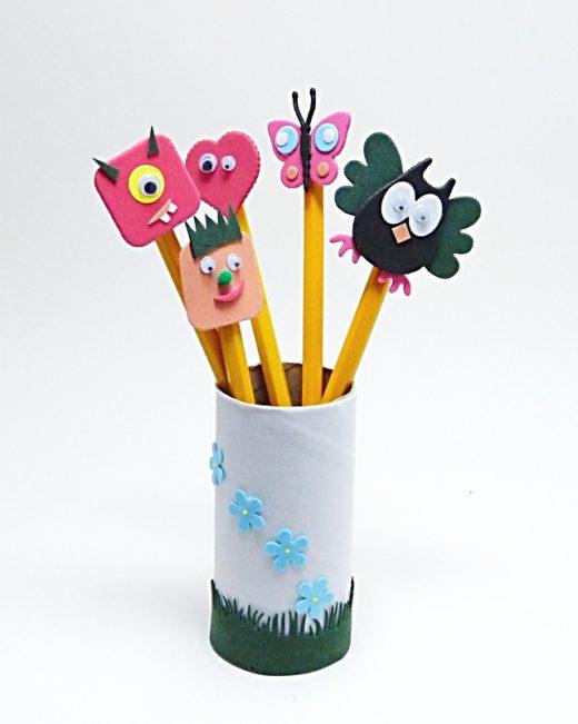 ozdůbky na tužky
