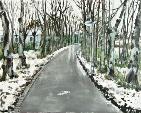 Malovaný obraz
