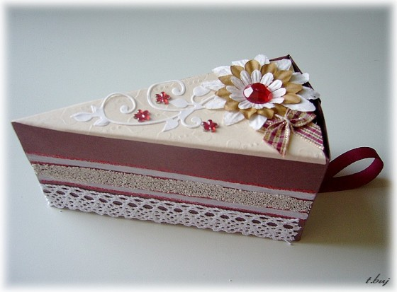 krabička dort