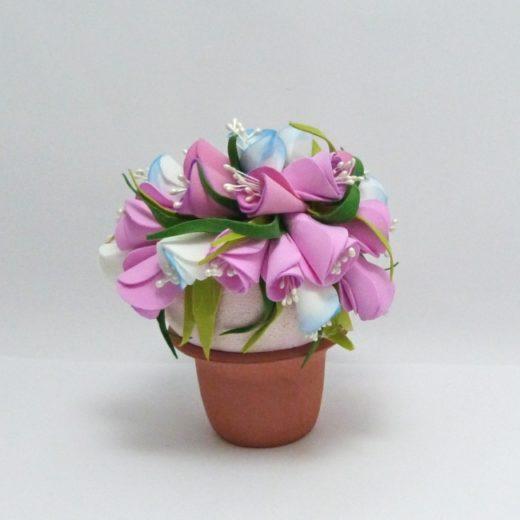 květinky z foamiranu