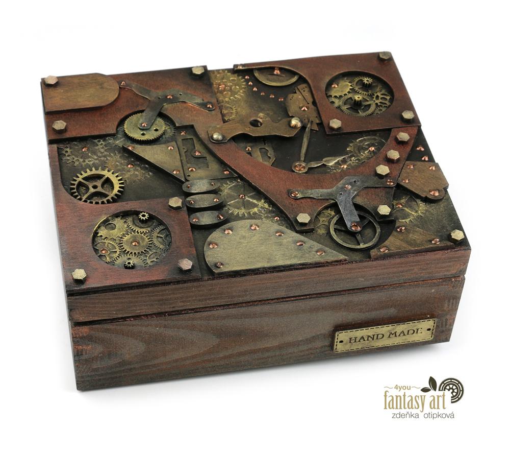 krabička steampunk