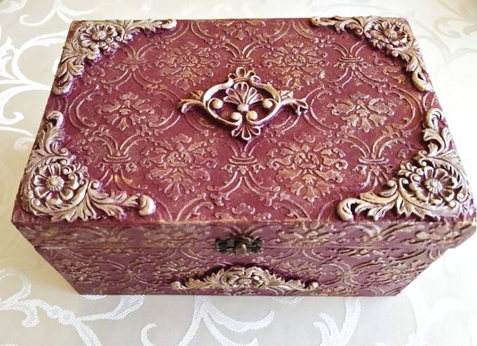 ozdobená krabička