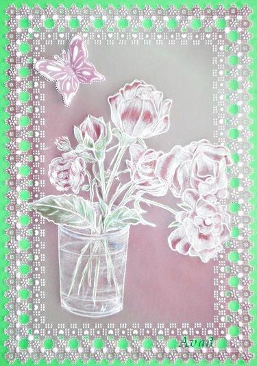 Přání s růžičkou